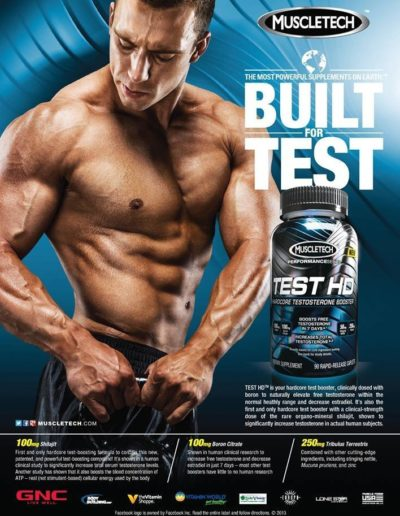Bill Jones, Flex Magazine Ad - Jan 2014